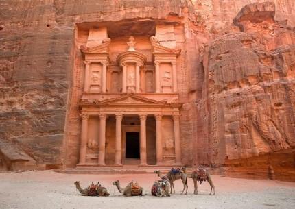 Jordan Petra Dead Sea