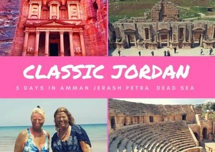 Classic Jordan Petra & Dead Sea